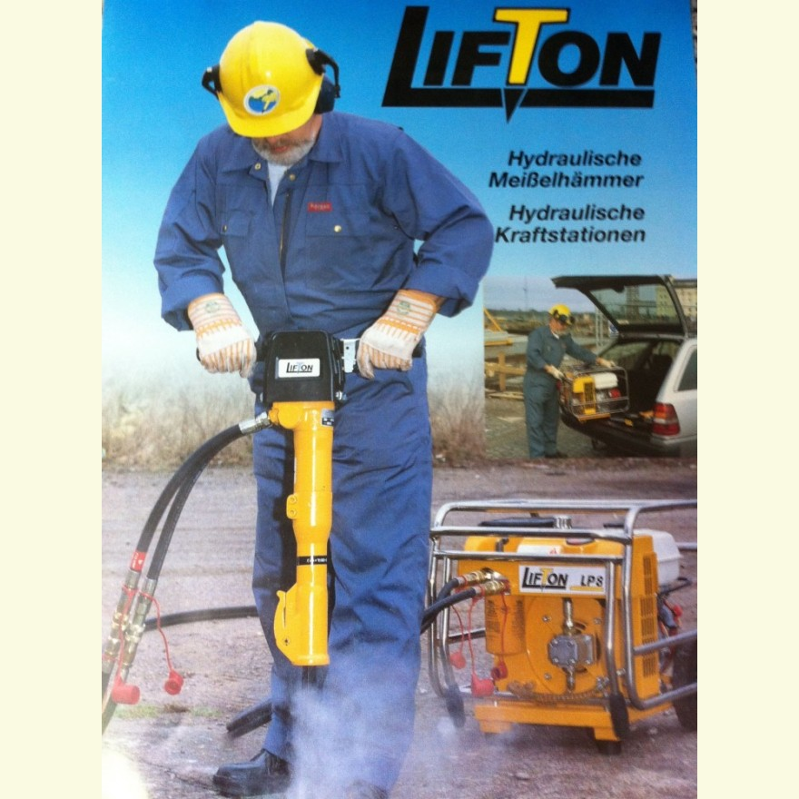 Hydraulikkraftstation LIFTON LP-8
